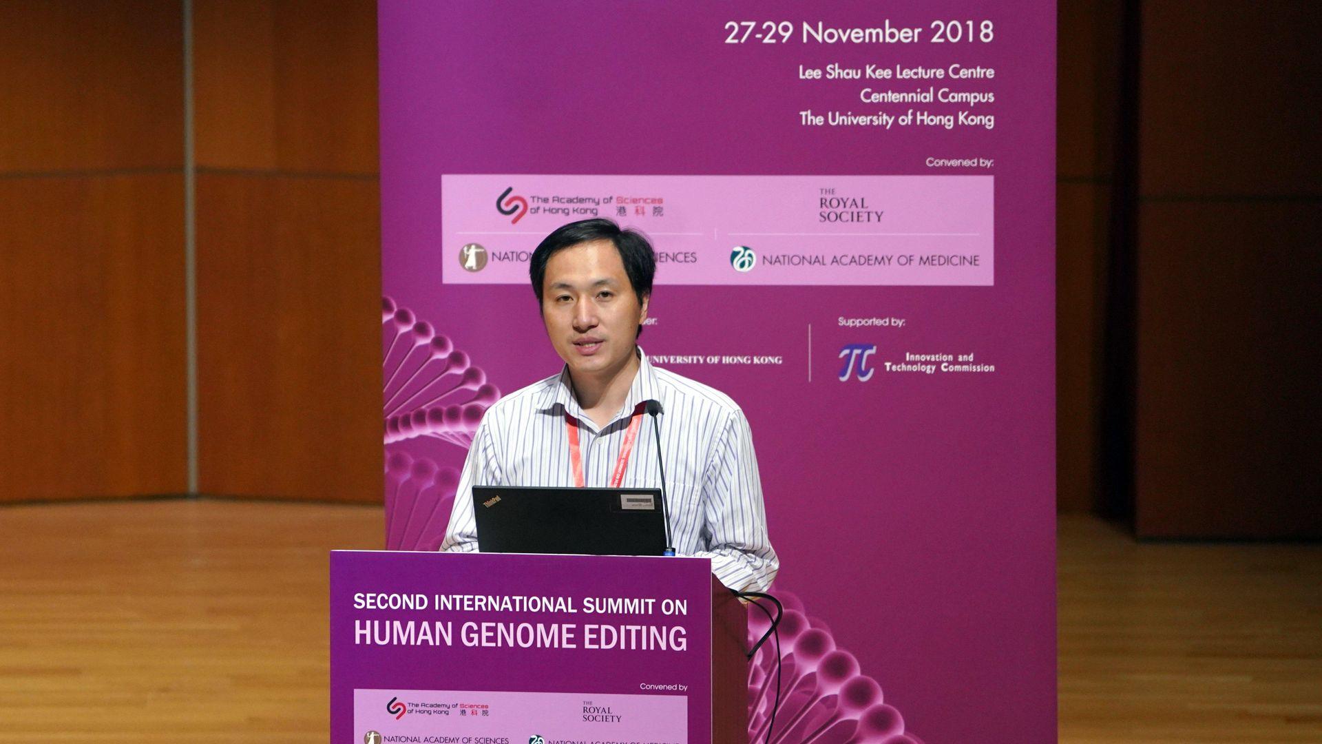 Scientist He Jiankui