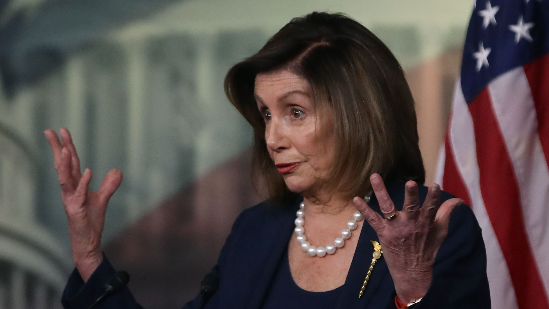 """Pelosi slams McConnell trial rules as """"deliberately designed to hide the truth"""""""
