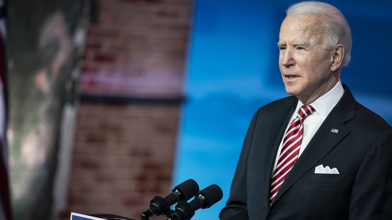 Biden's America cover image
