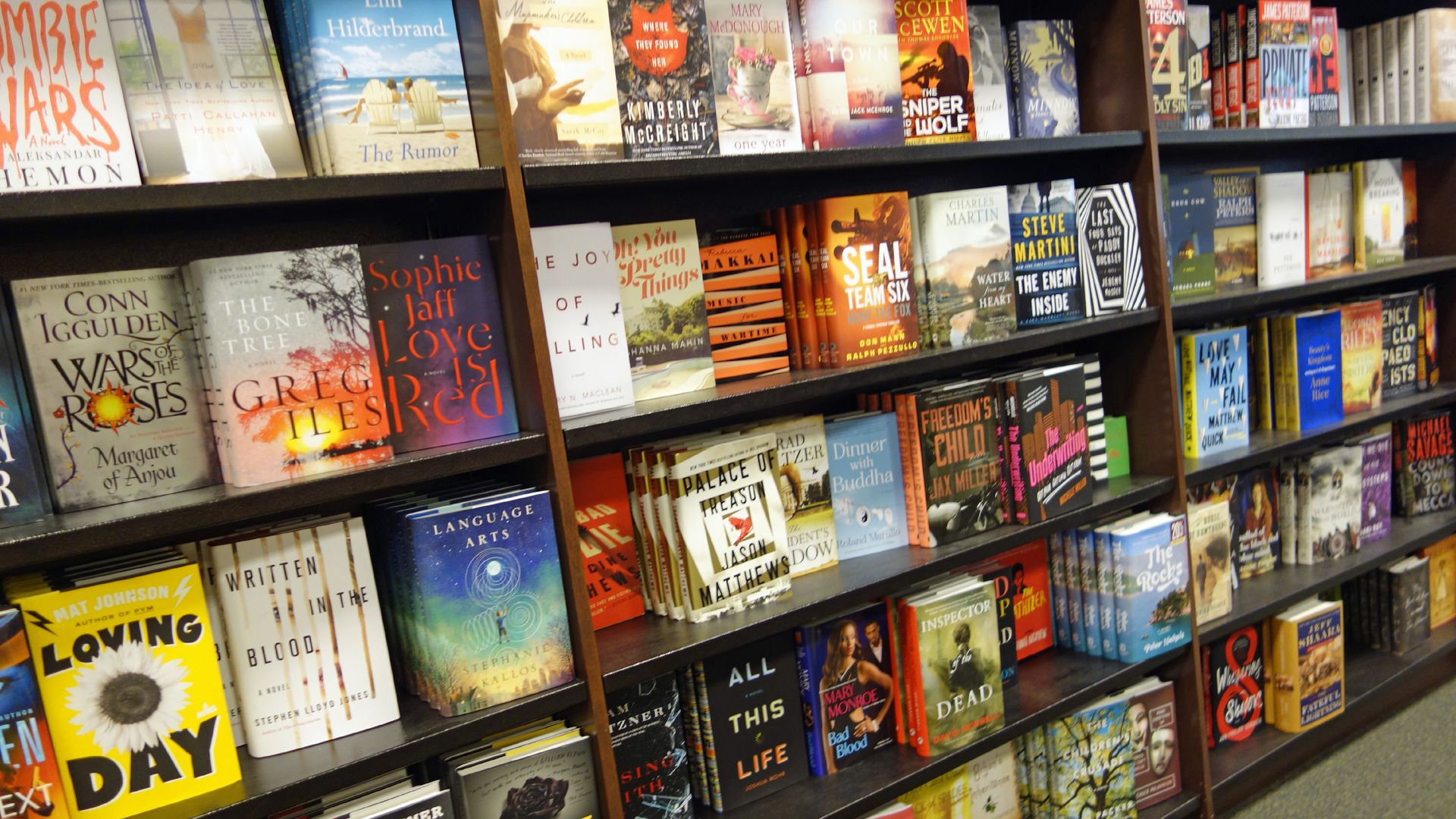 How Barnes Noble The Last Big Bookstore Fell To Amazon Axios