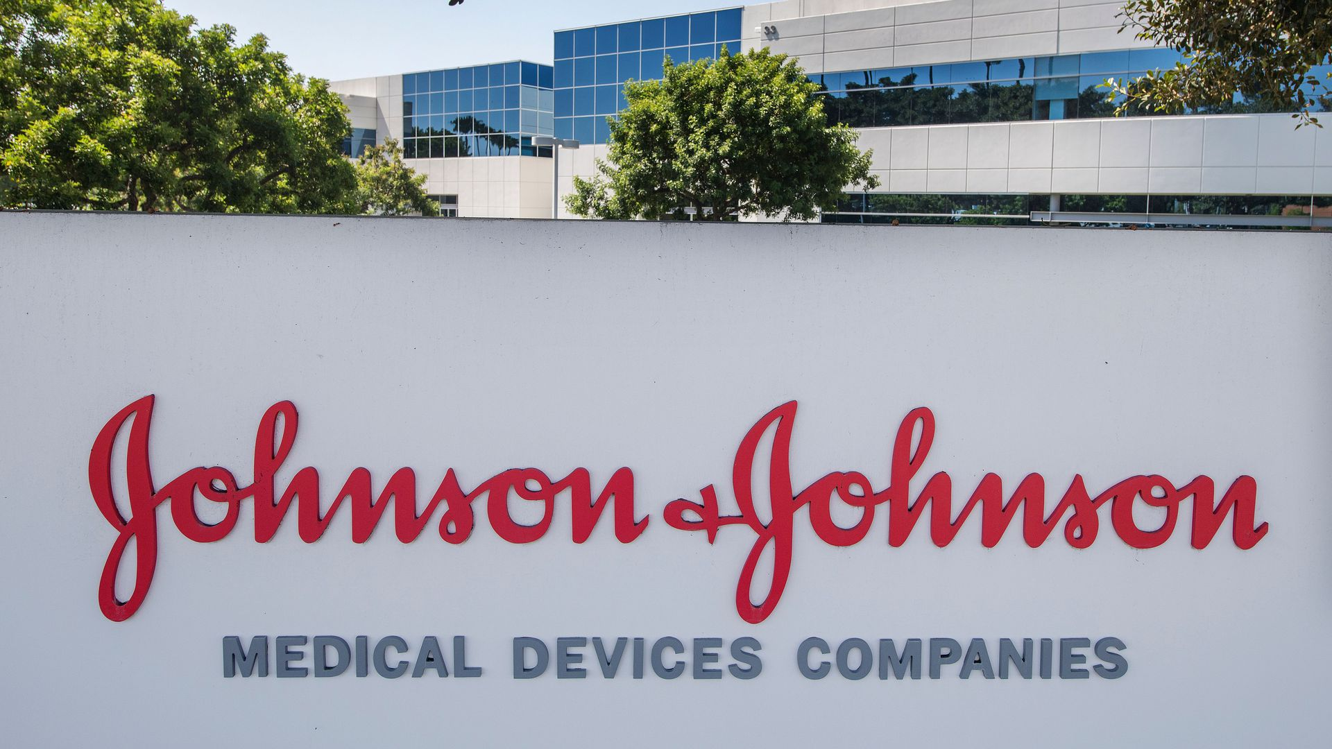 This image shows the Johnson & Johnson logo
