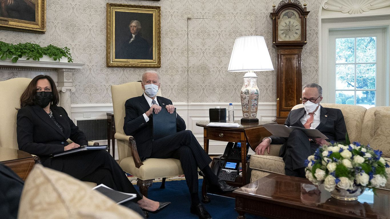 Biden holds all the cards in coronavirus relief talks — and he knows it thumbnail