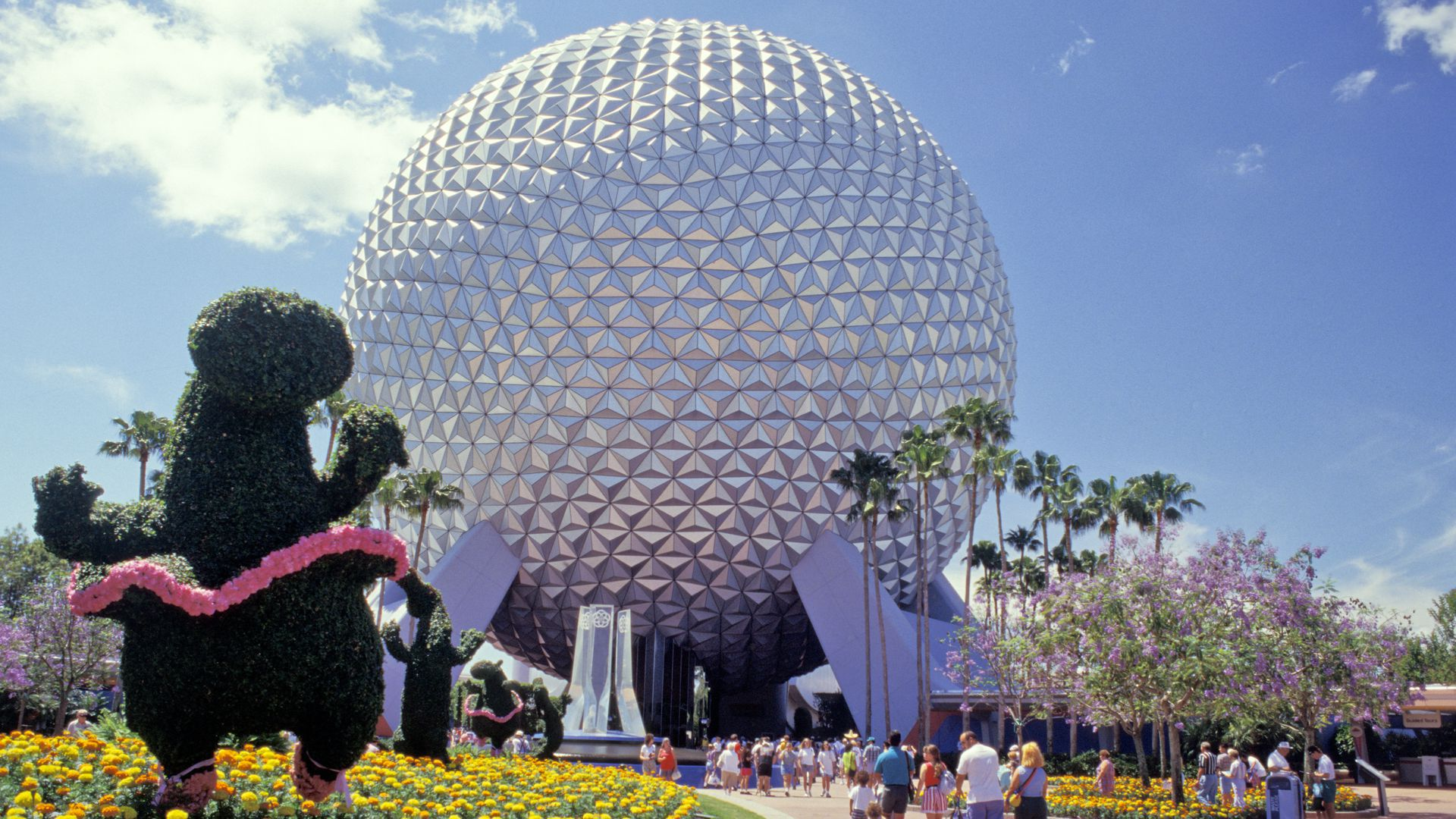The Epcot Center at Disney World in Orlando, Florida