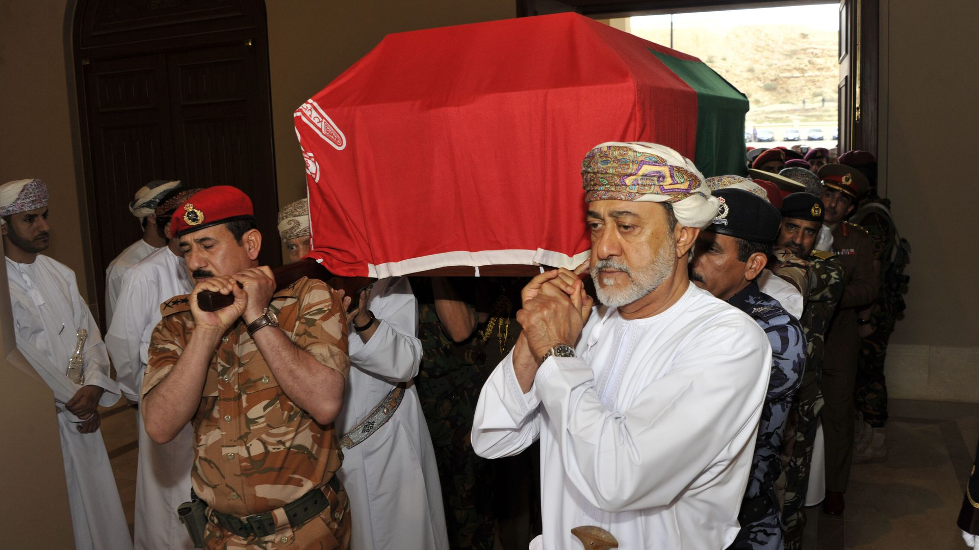 Death of Sultan Qaboos means Oman's first transition in 50 years