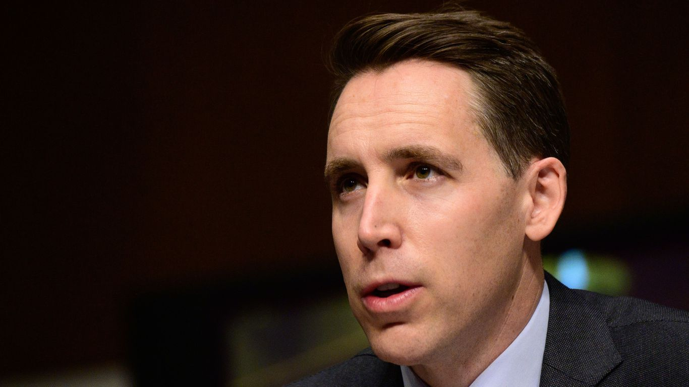 First look: Hawley to introduce alternative to minimum wage hike - Axios