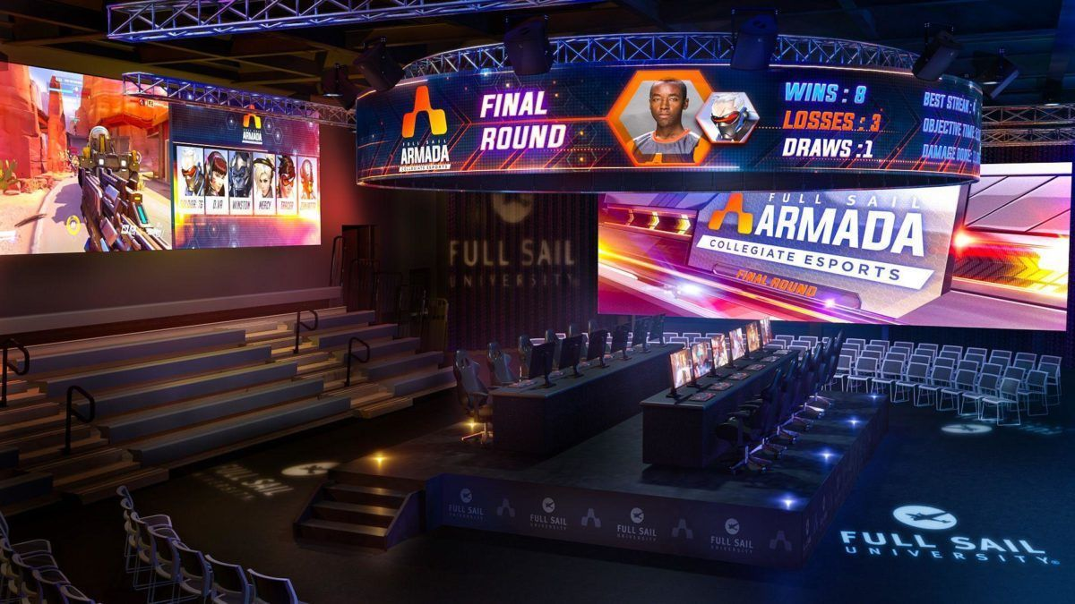 Full Sail's proposed esports arena