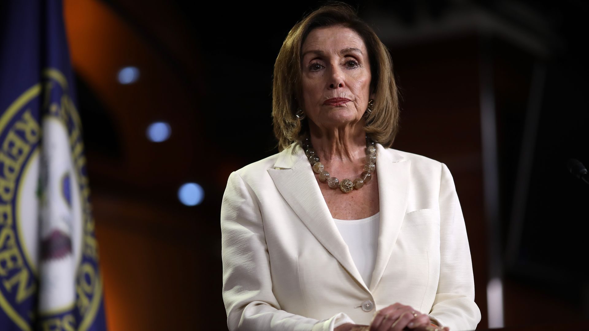Pelosi leans in: House Democrats relish Trump fight over racist tweets