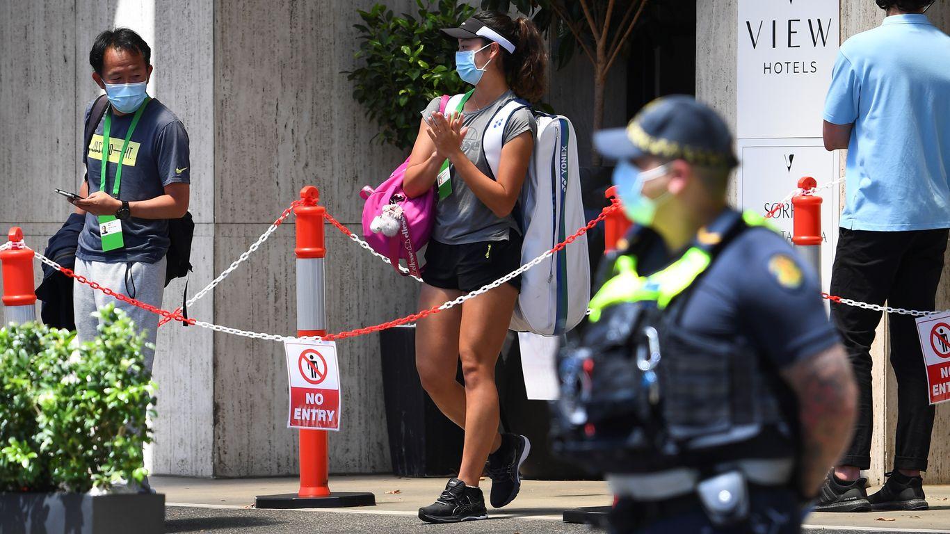 2 tennis players test positive for coronavirus ahead of Australian Open