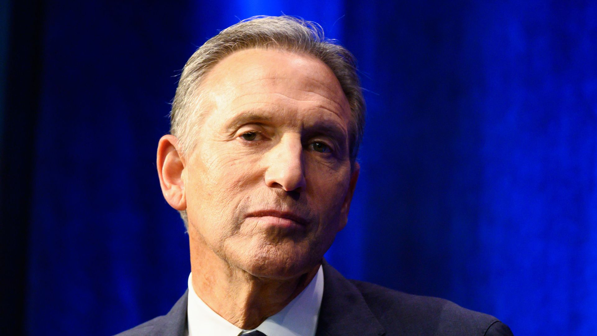 Howard Schultz close up
