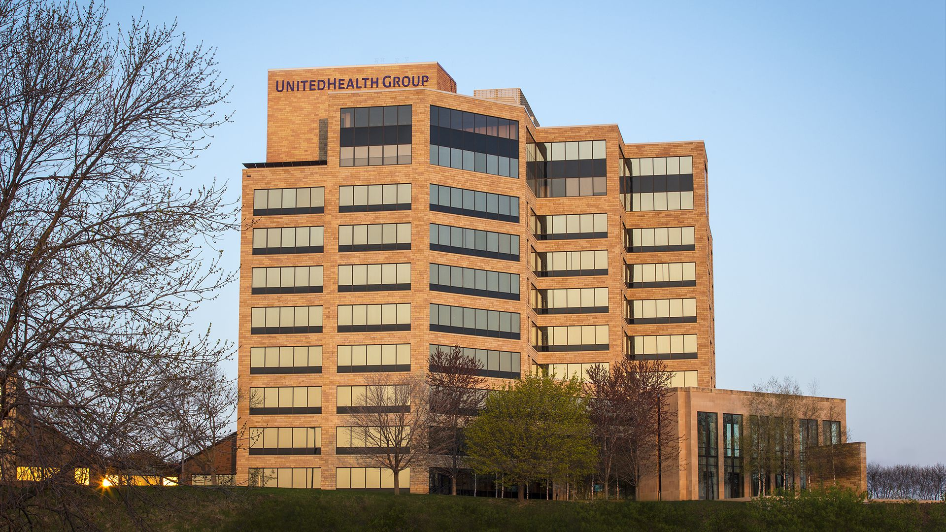 UnitedHealth Group headquarters in Minnesota.