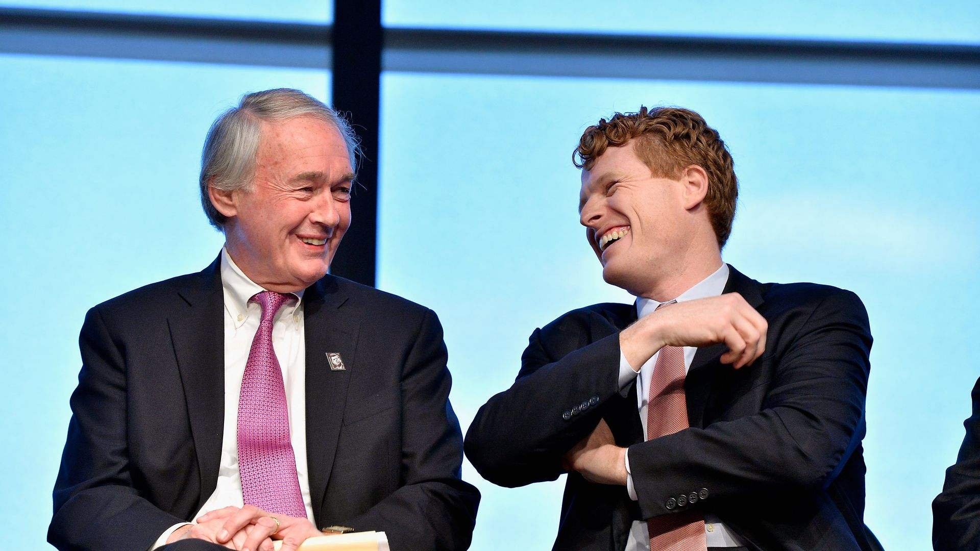 Ed Markey and Joe Kennedy