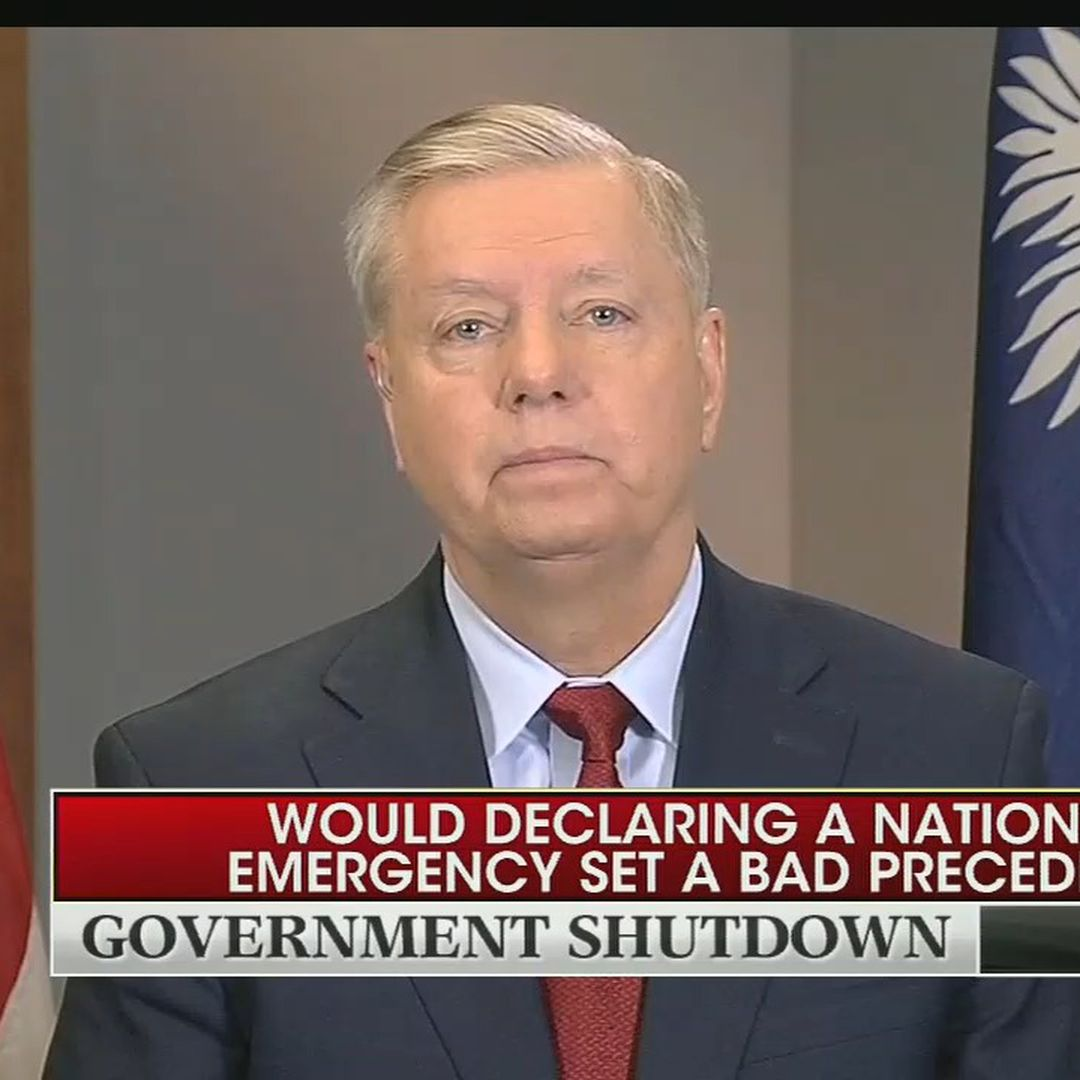 Lindsey Graham says Trump is