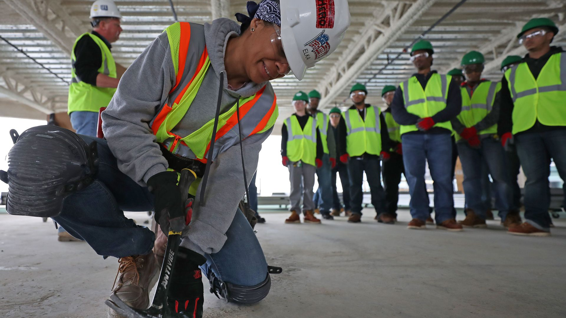 Middle-wage jobs largely no longer pay middle-class salaries