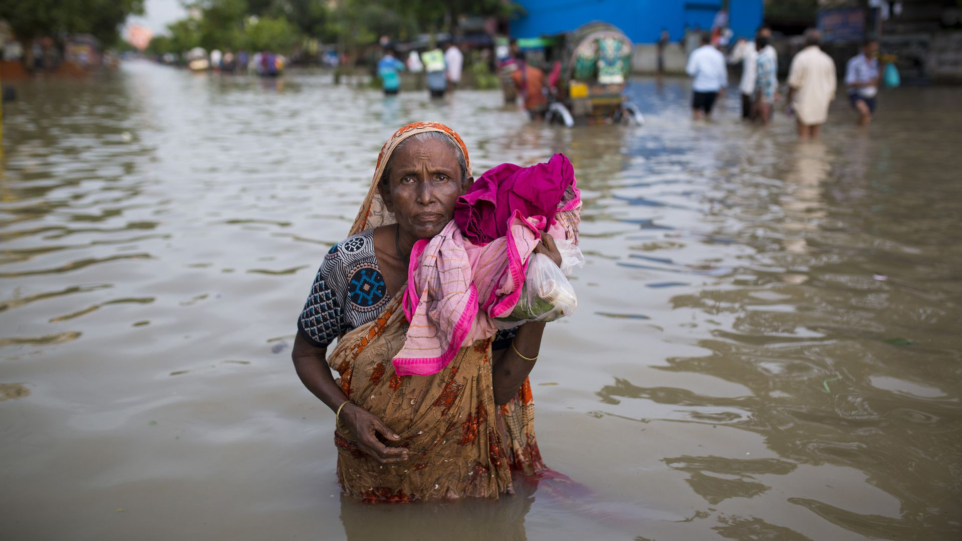 Sea level rise in Bangladesh will be more severe under a 2-degree scenario, as shown in a new U.N. IPCC report.