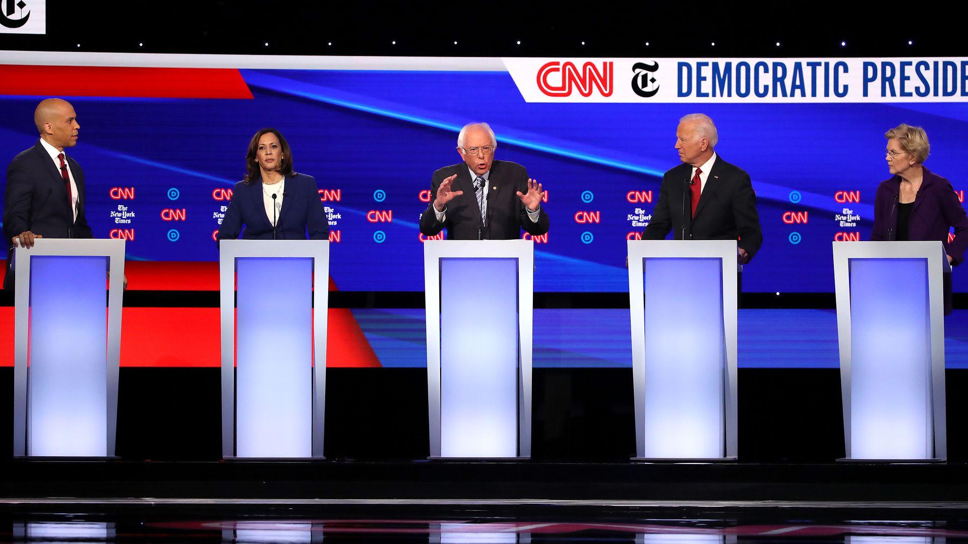 october democratic debate