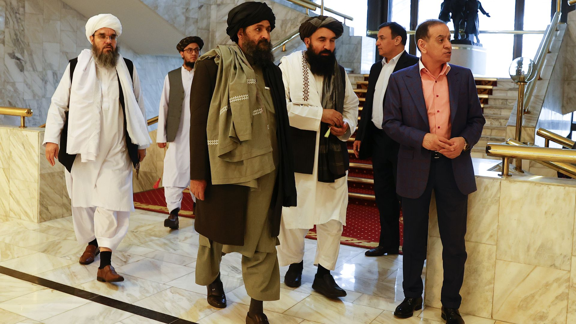 Taliban delegation meets with special envoy in Moscow - Axios