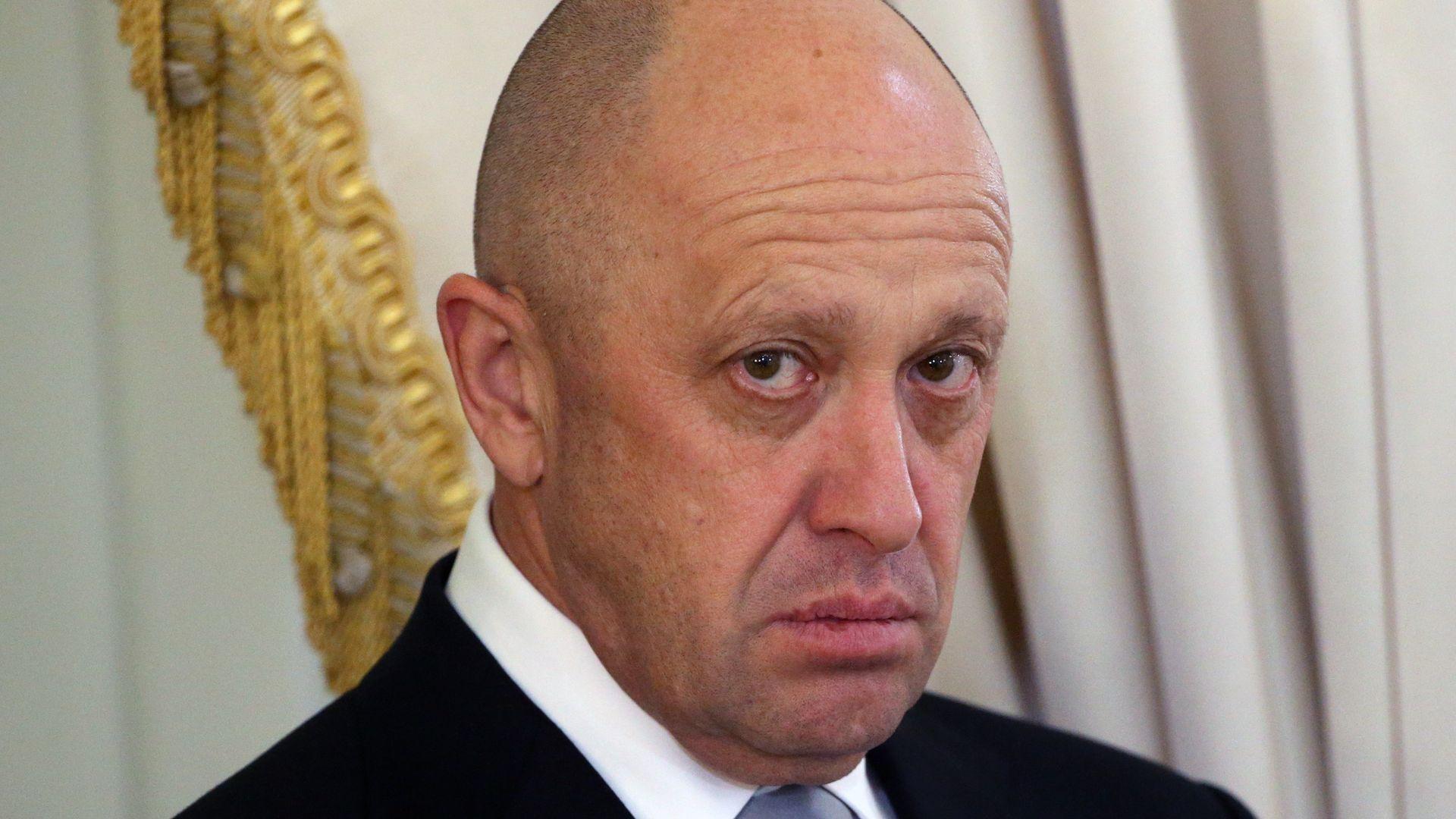 Russian billionaire Yevgeny Prigozhin.