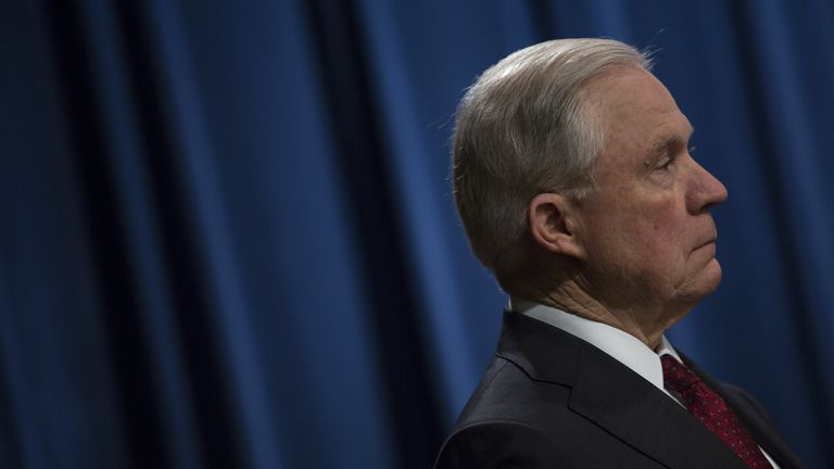 Sessions pushes back: DOJ will