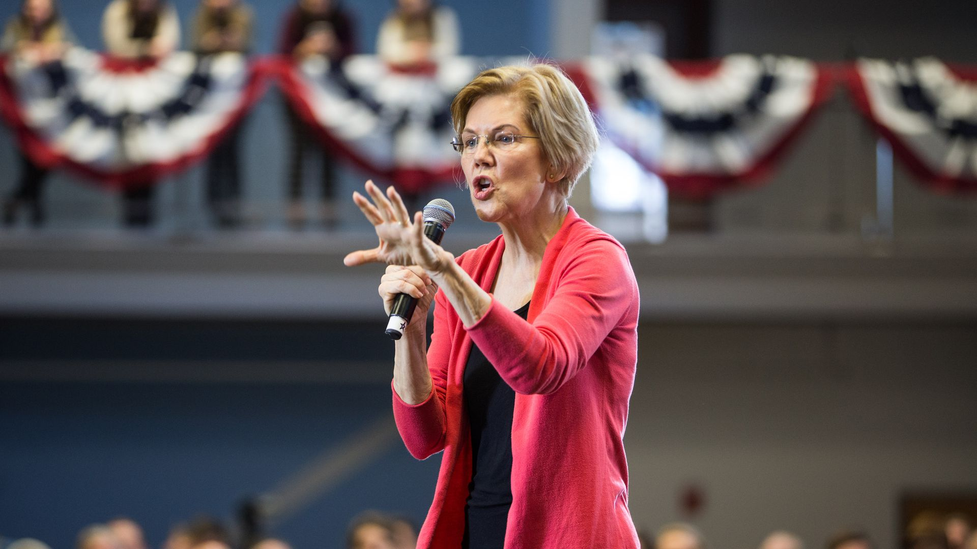"Sen. Elizabeth Warren (D-Mass.) has proposed a ""wealth tax."" Photo: Scott Eisen / Stringer"