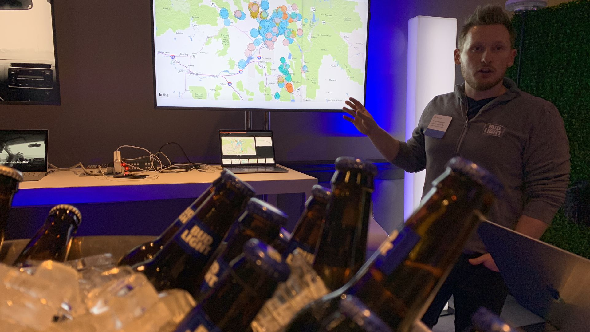 AB InBev uses AI to help barley growers see better yields