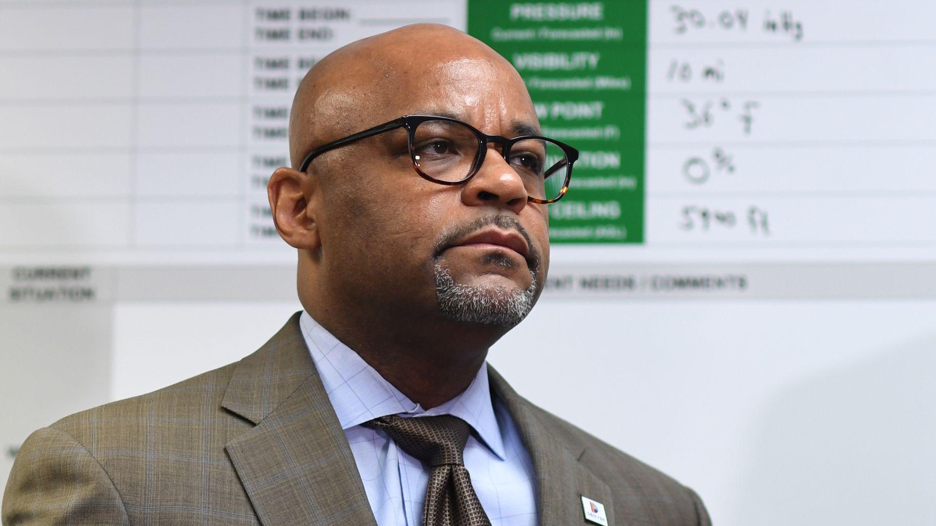 A photo of Denver Mayor Michael Hancock