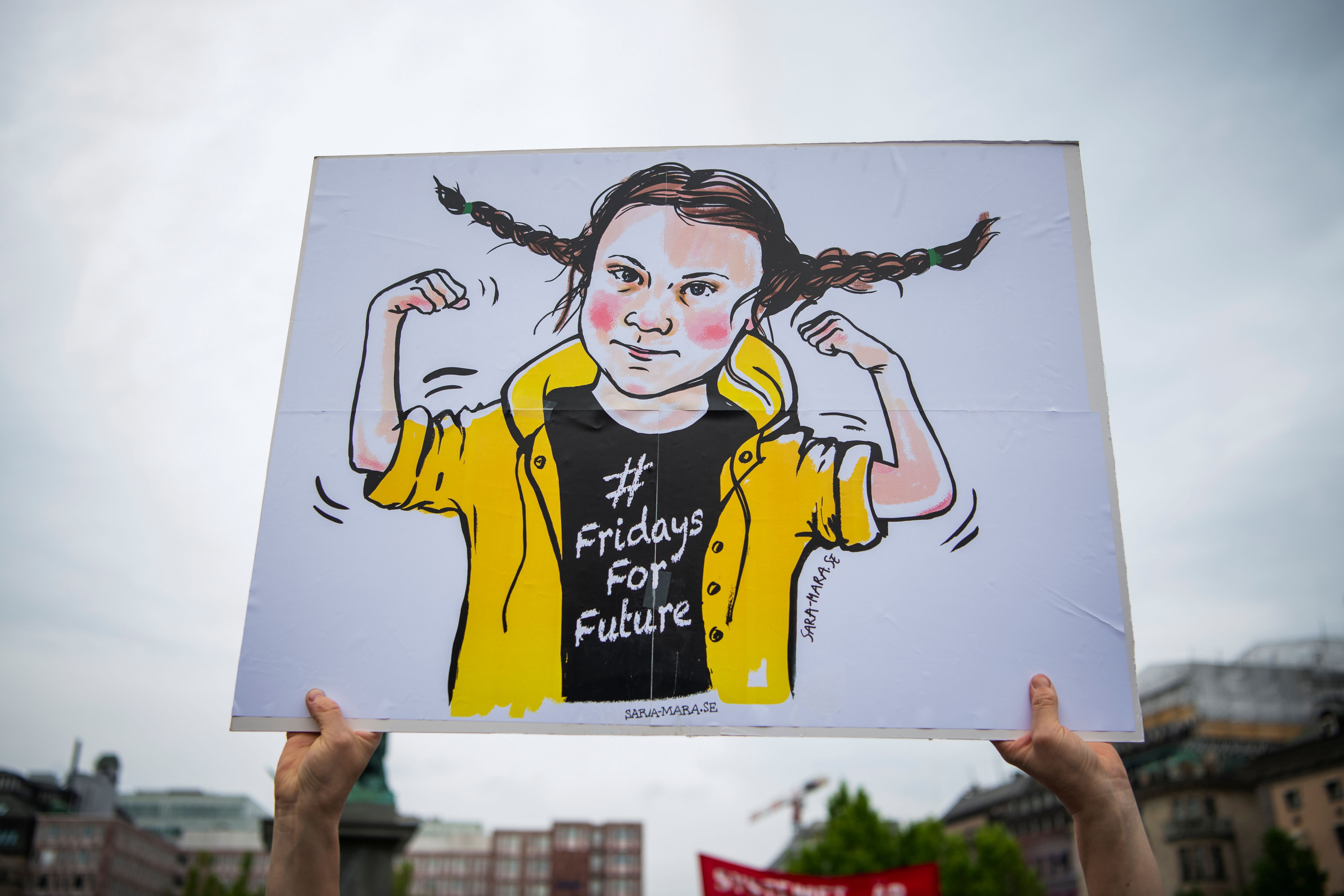 In Photos Students Lead Climate Change Protests Across The