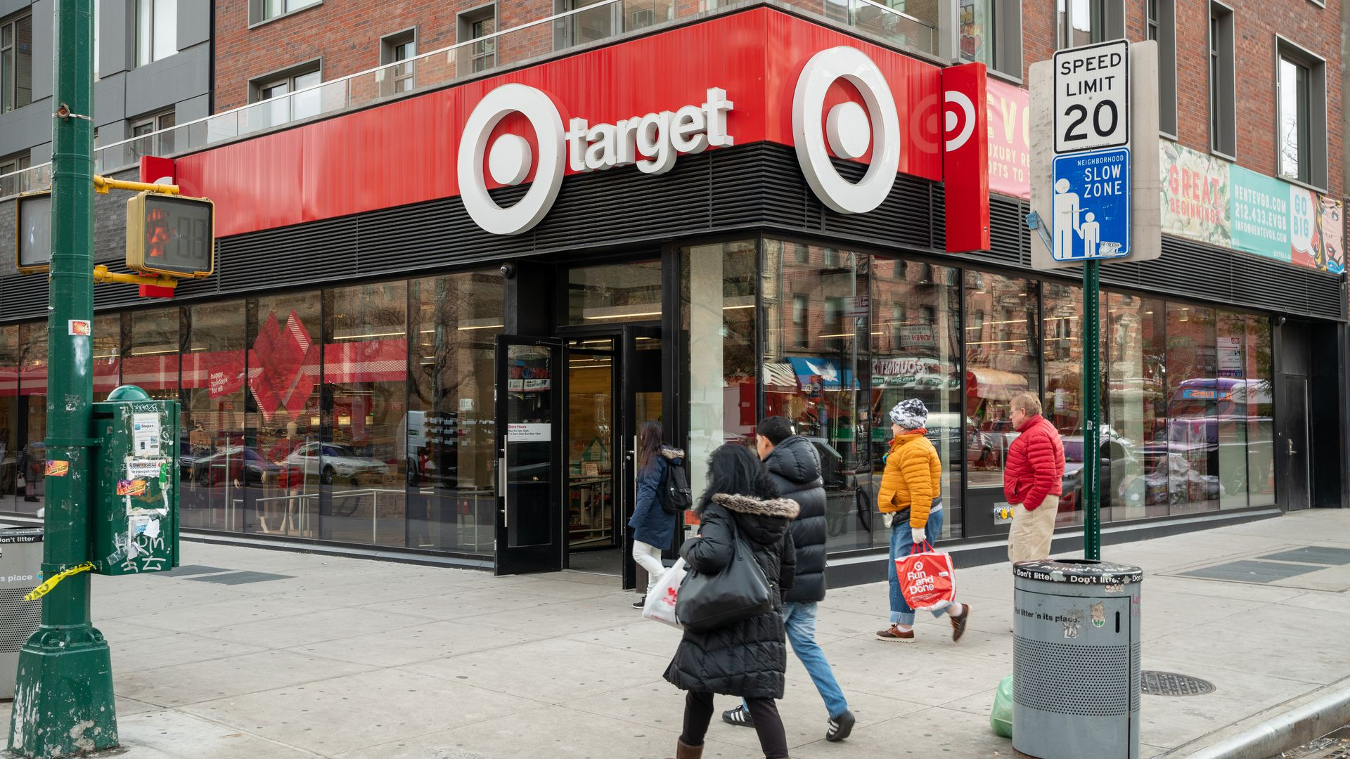 Target and Amazon race for same-day shipping