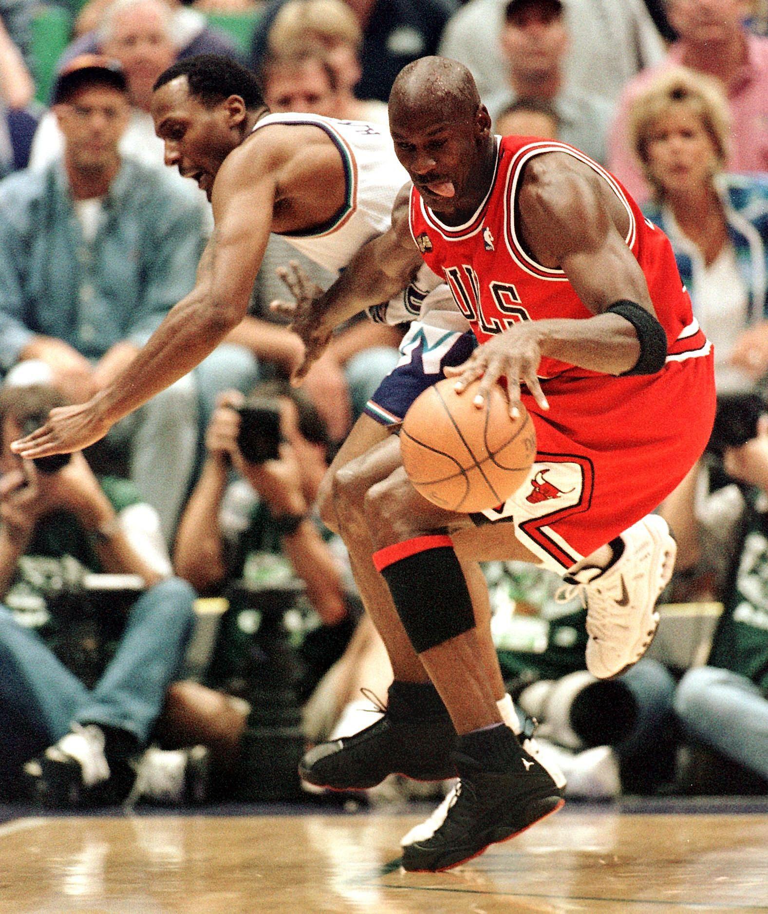 Jordan vs the Jazz