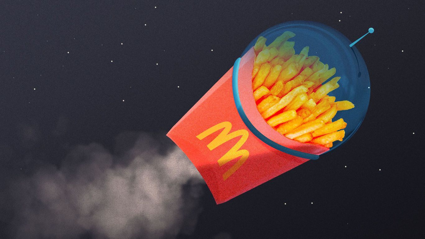 Fast food catapults to the future thumbnail
