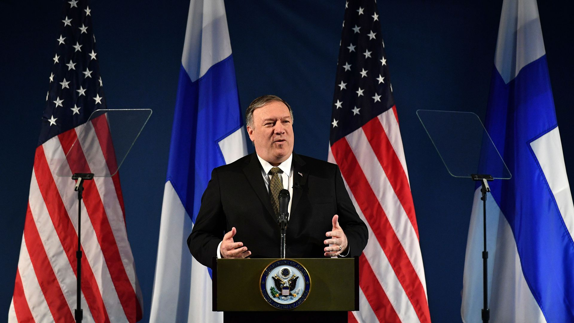 Image result for Pompeo arctic conference