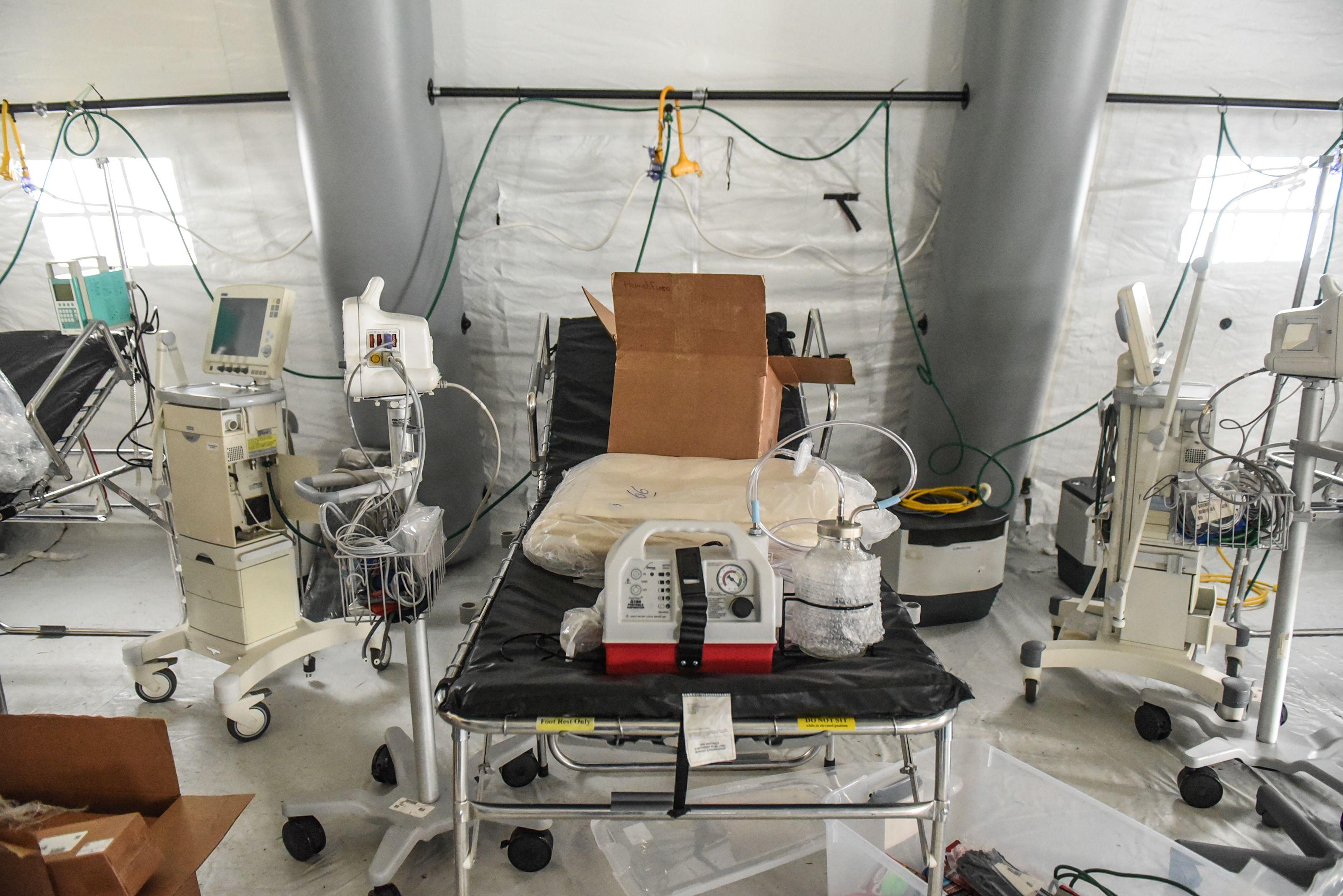 China donates 1,000 ventilators to New York
