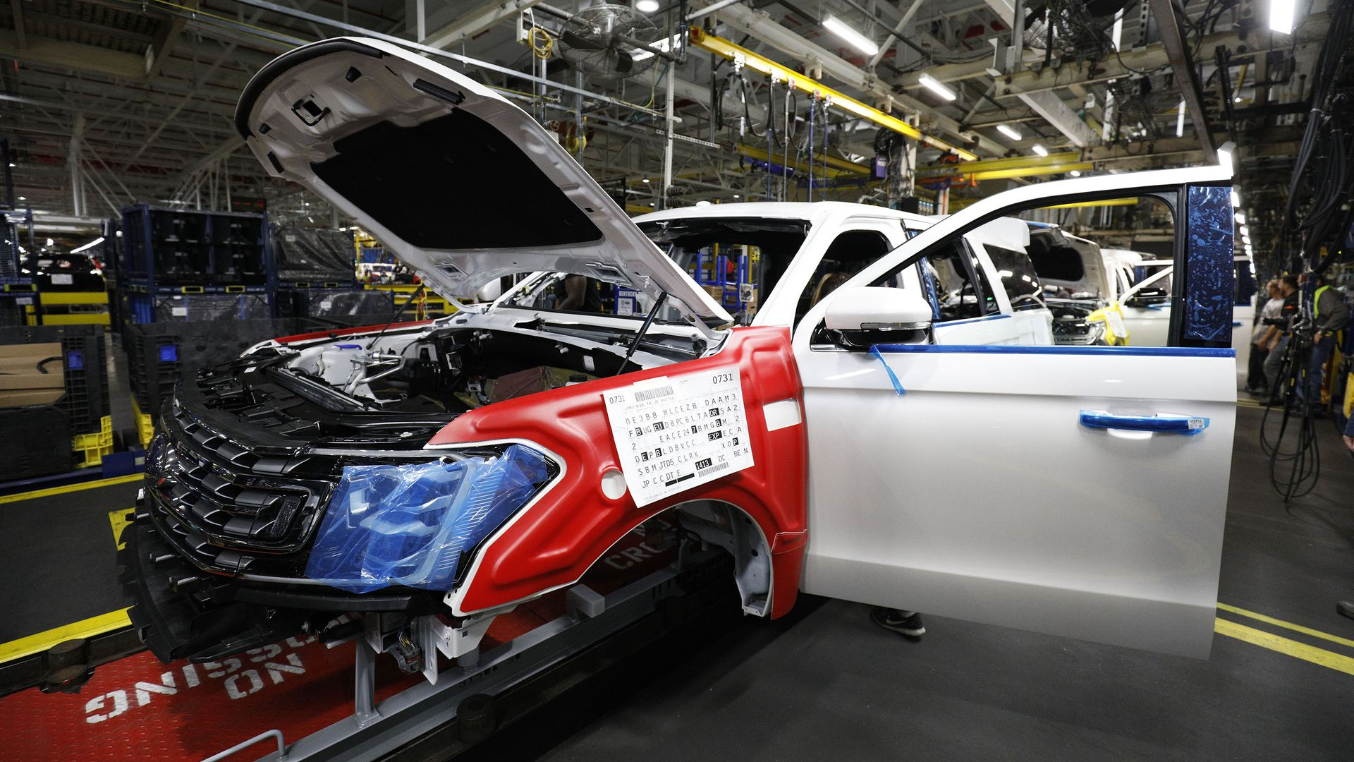 Ford Car production