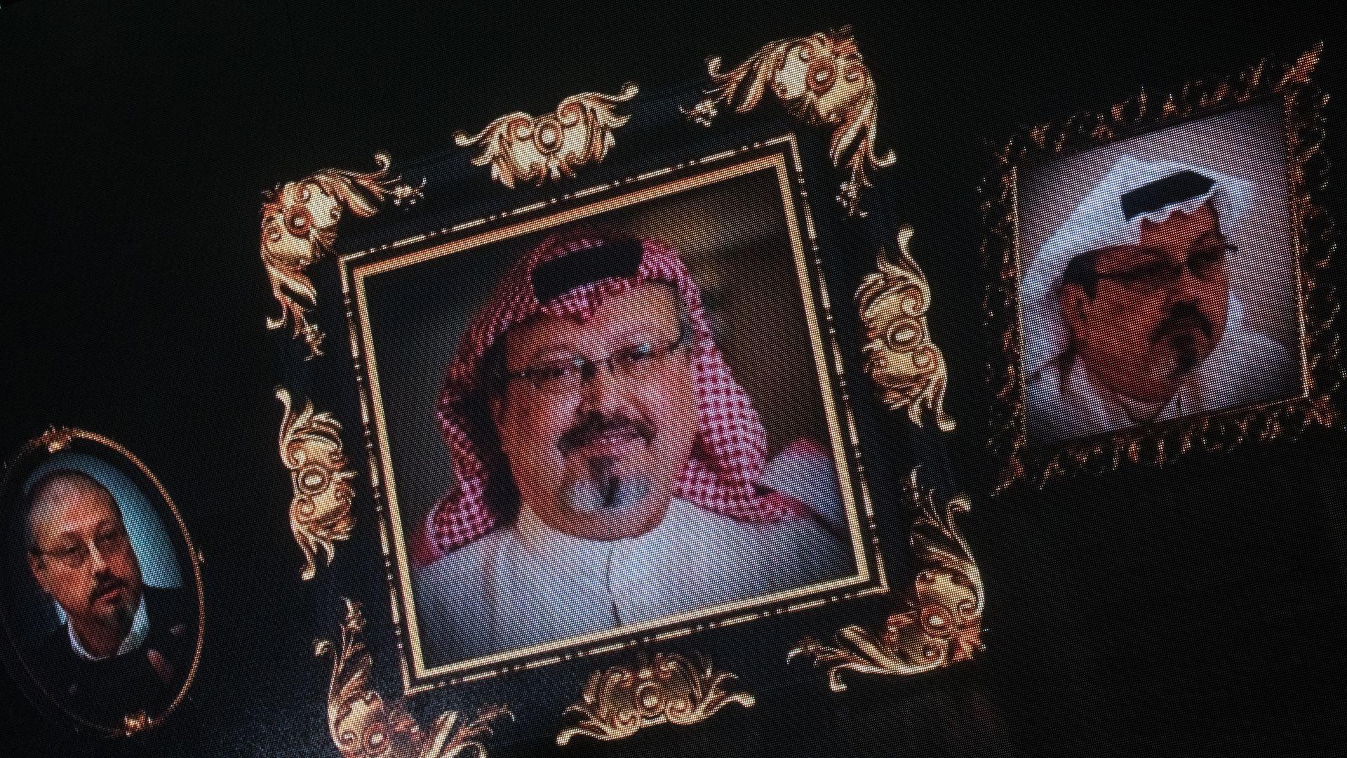 Images of Jamal Khashoggi