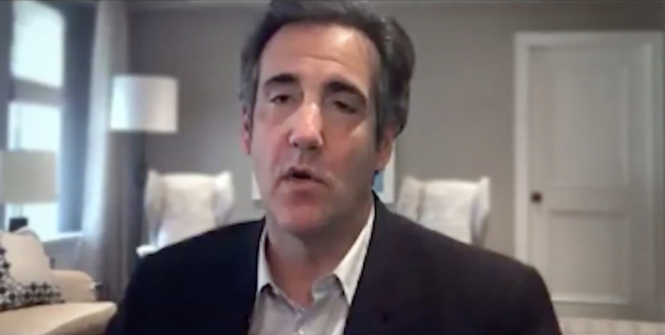 """Michael Cohen says Trump """"can't be trusted"""" in new ad thumbnail"""