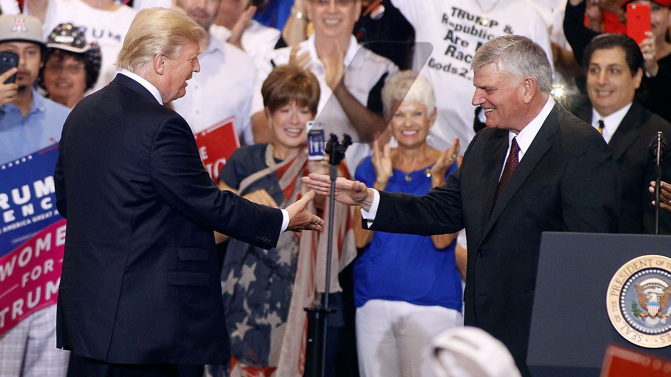 """""""The guy does not eat well"""": Franklin Graham worries Trump too old to run in 2024 thumbnail"""