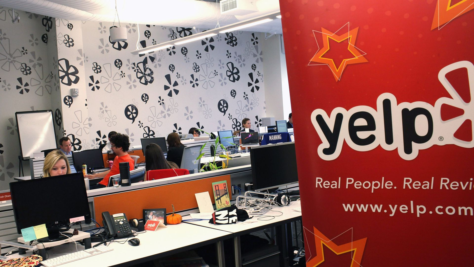 Yelp office in NYC