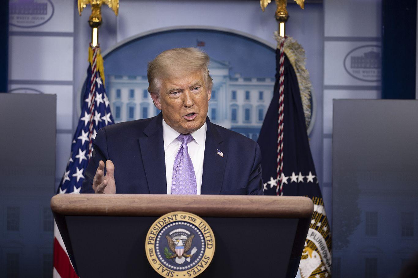 Trump receives mail-in ballot in Florida thumbnail