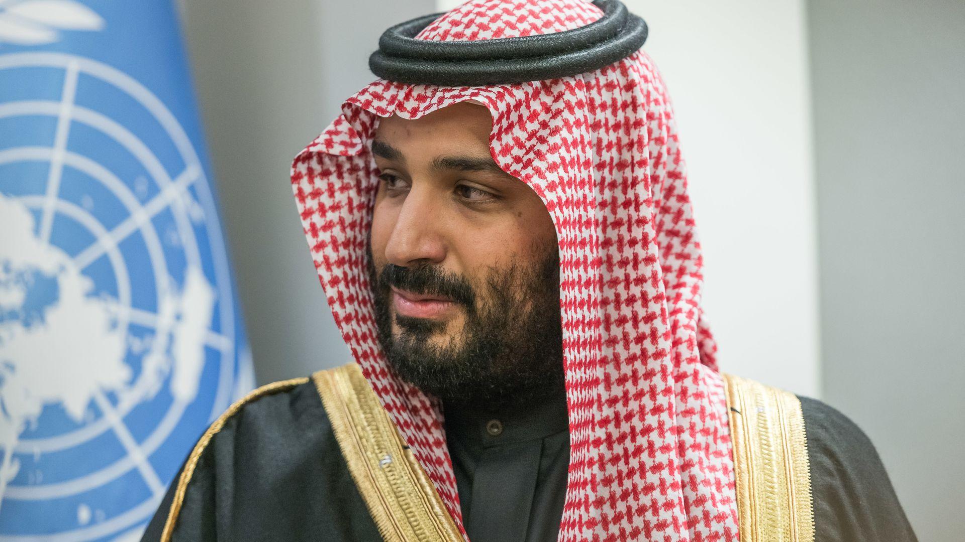 Saudi Crown Prince Mohammed.