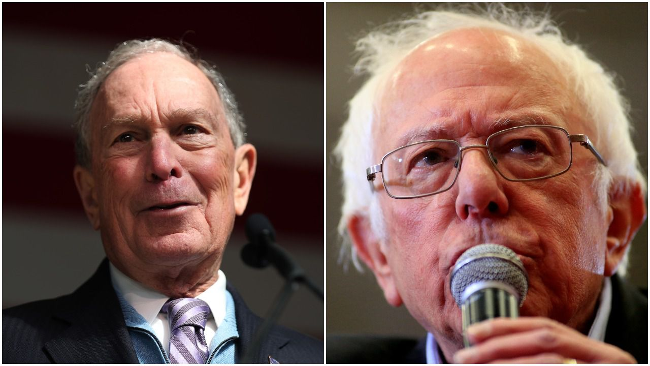 Bloomberg releases heart health data, says Sanders should do the same