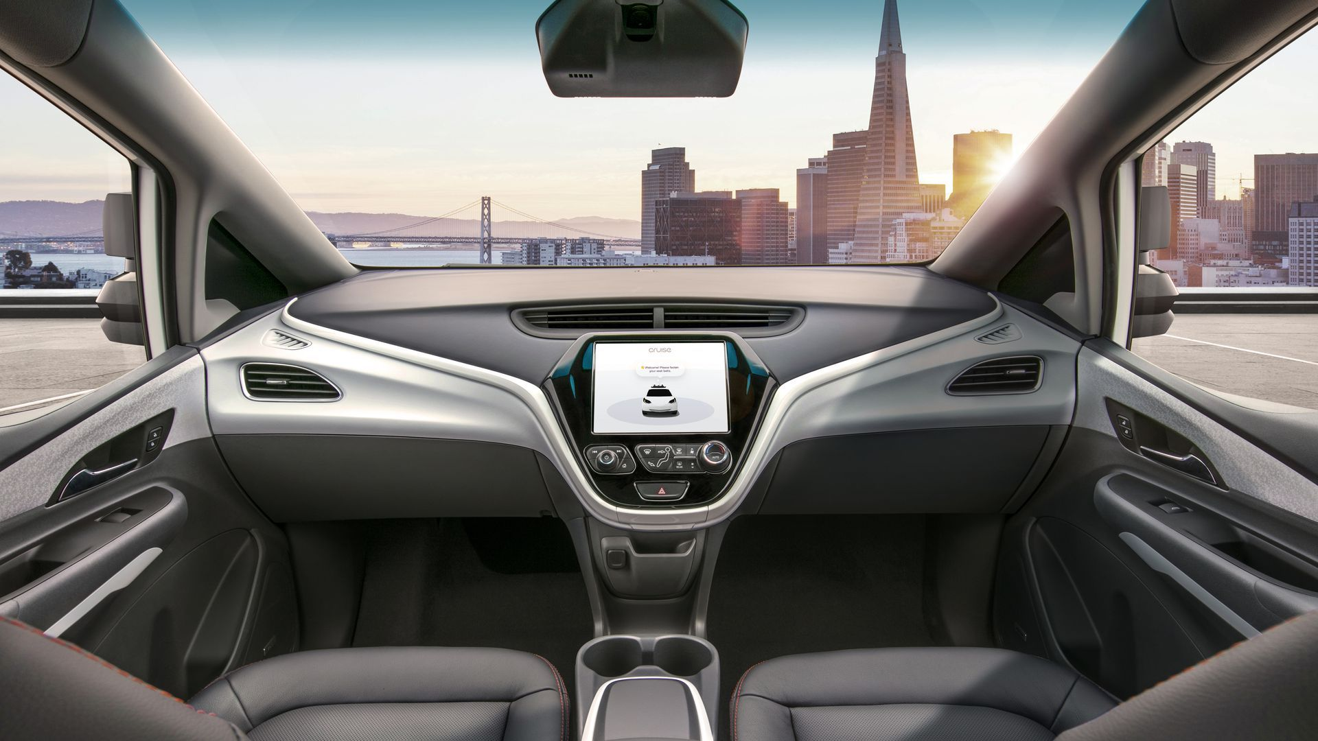 Autonomous vehicle interior