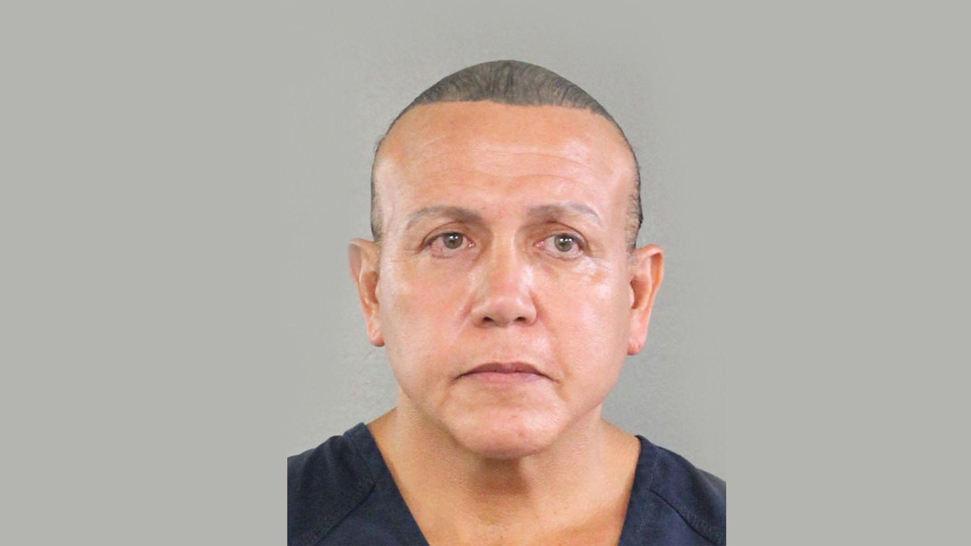 Mugshot of mail bomb suspect Cesar Sayoc