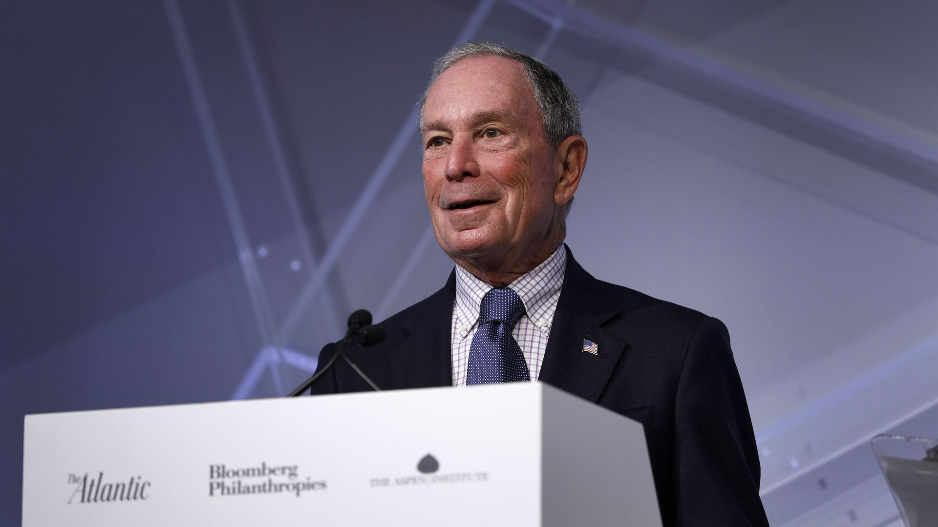 Michael Bloomberg, billionaire and former Mayor of New York City.