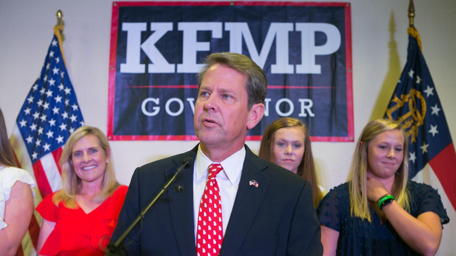 Georgia Secretary of State Brian. Photo: Jessica McGowan/Getty Images