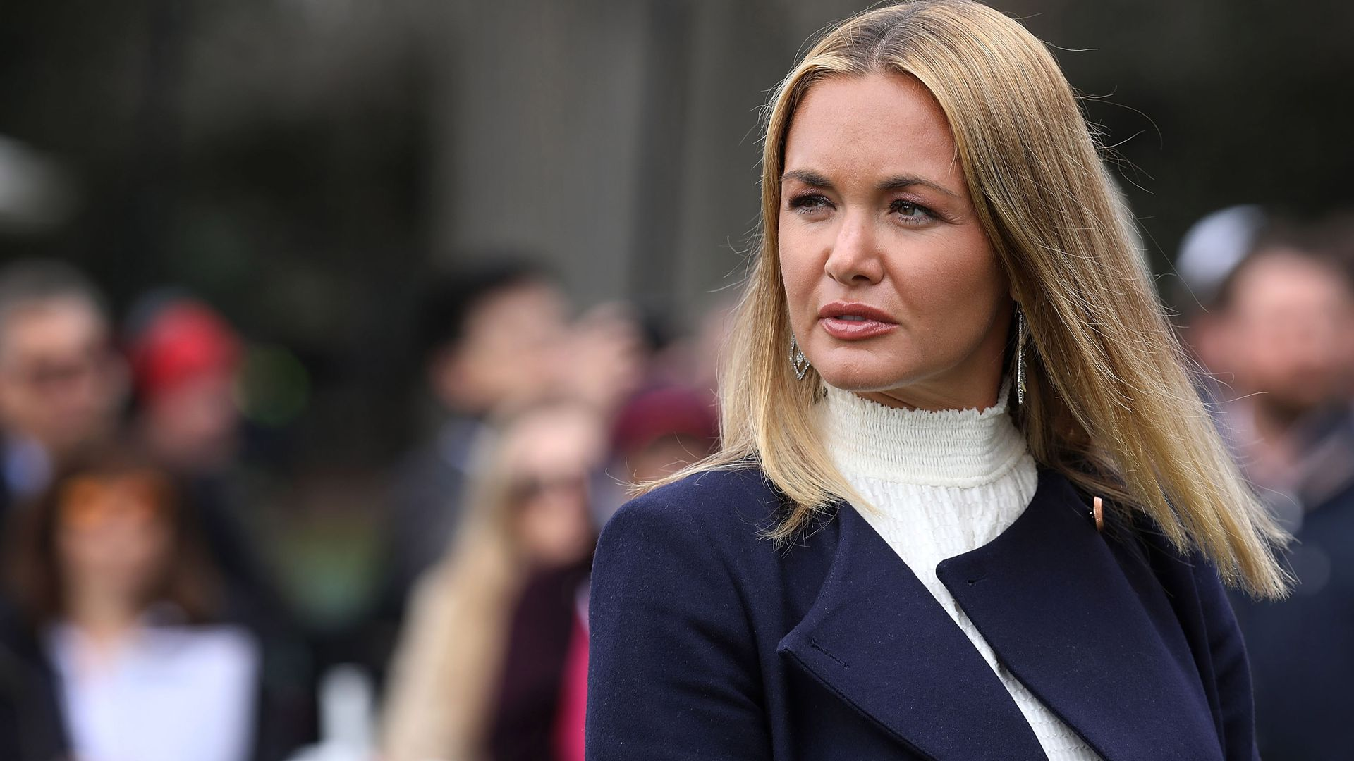 Vanessa Trump was opened an envelope filled with white powder.