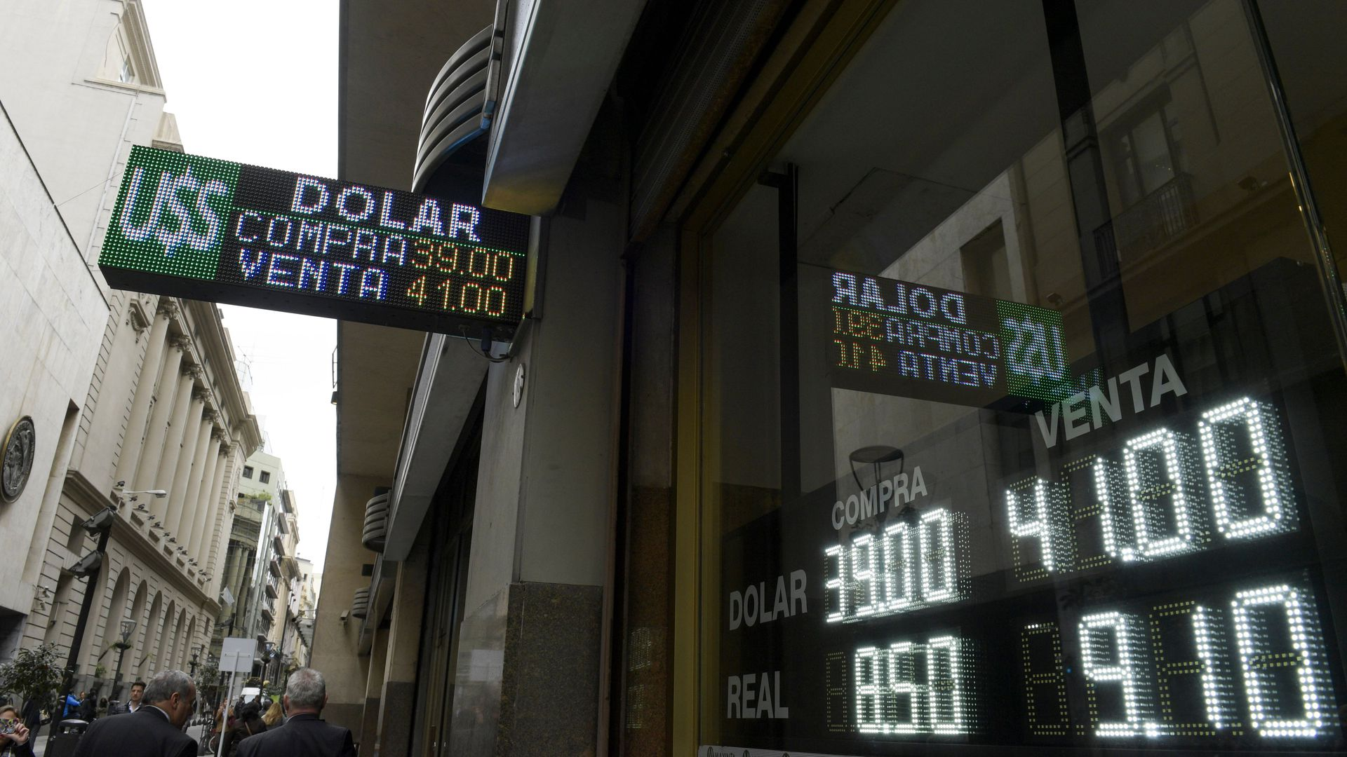 Currency exchange in Argentina