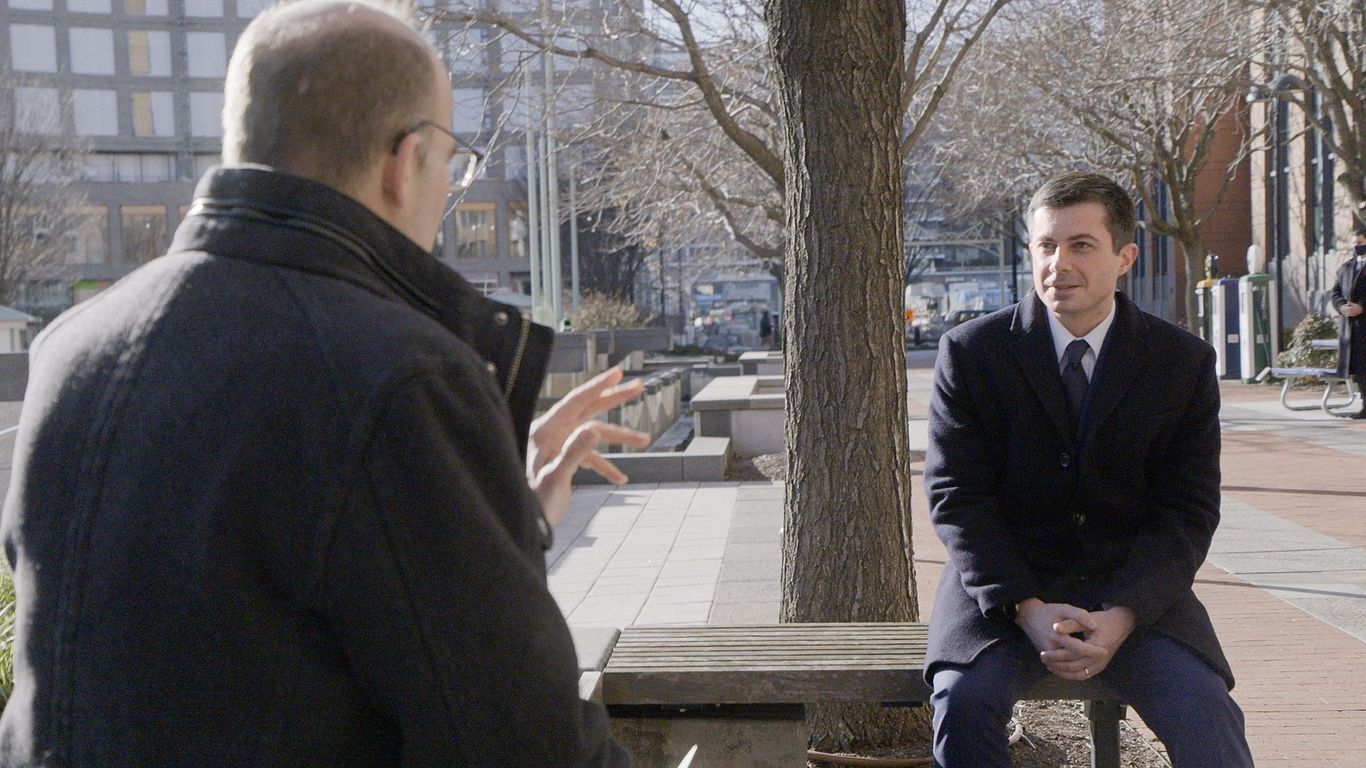 """""""Axios on HBO"""": Pete Buttigieg talks future of flying, cars and cities"""