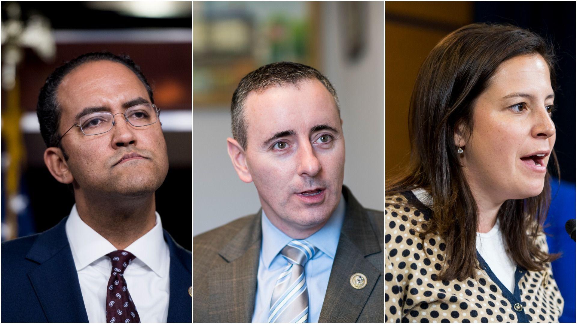 Reps. Will Hurd, (R-Texas), Brian Fitzpatrick, (R-Pa.) and Elise Stefanik, (R-N.Y.)