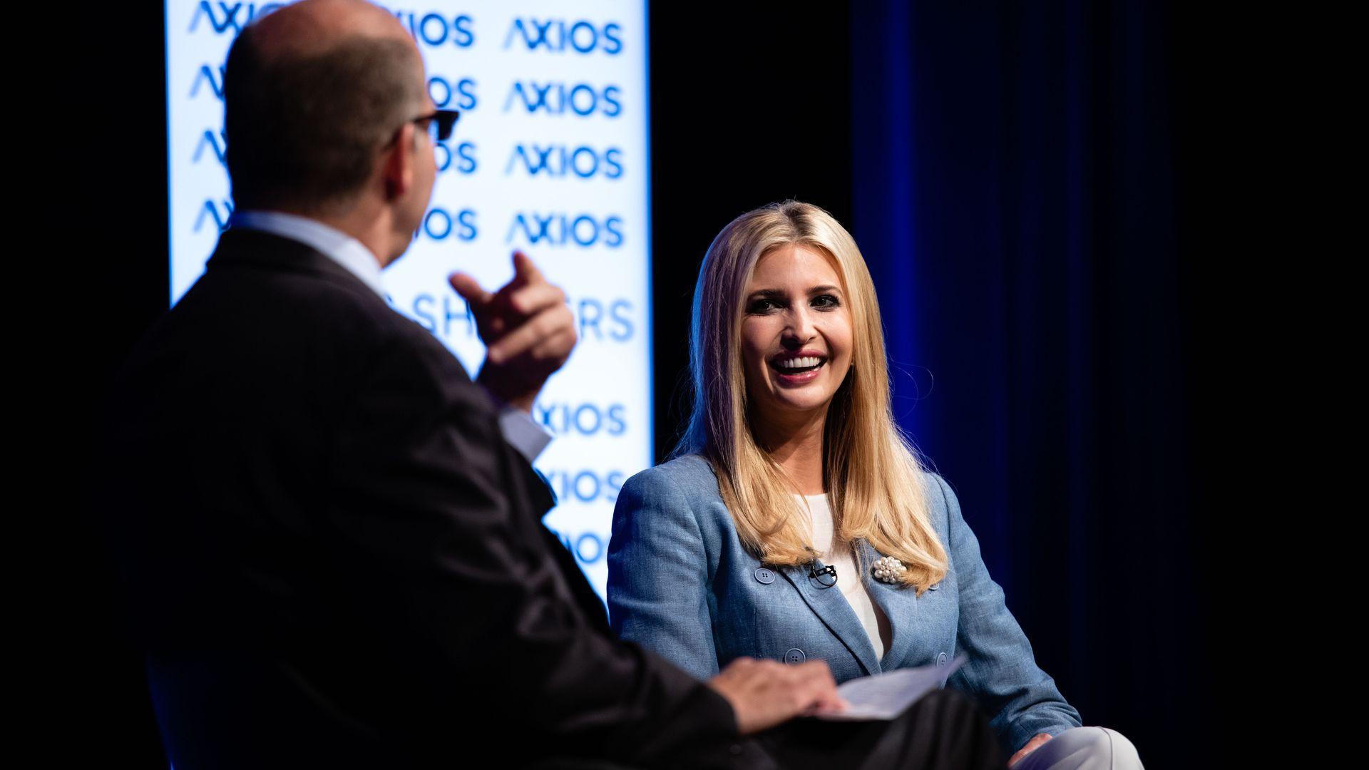 Ivanka Trump at an Axios 360 event