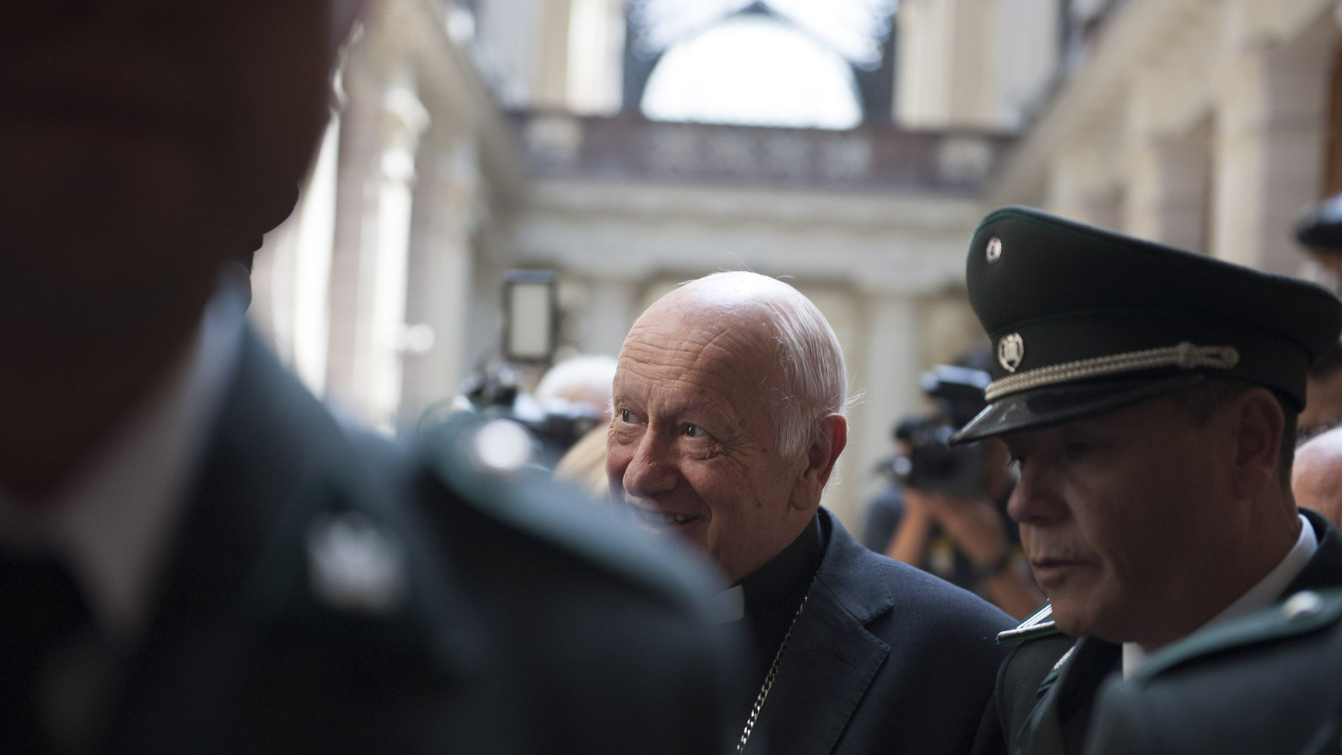 Pope Francis accepts resignation of Chile's highest-ranking Church official, Cardinal Ricardo Ezzati