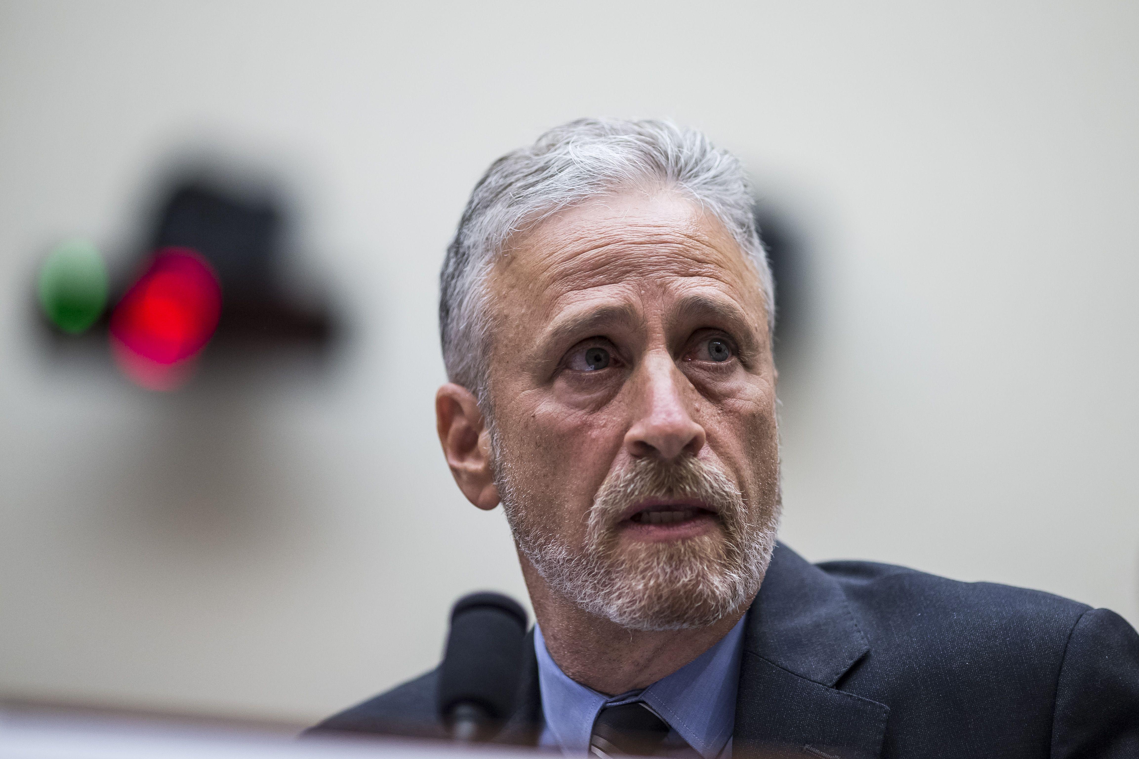 Jon Stewart: Rand Paul blocking 9/11 Victim Fund bill is an abomination - Axios